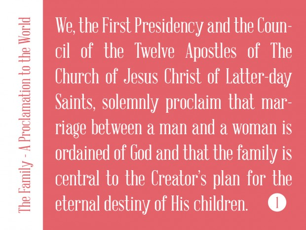 the family 01 we the first pres
