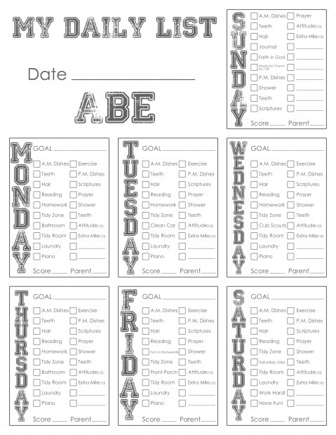 2013 05 daily list chore vs 3 abe