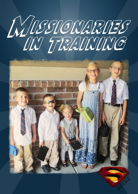 5x7 missionaries in training