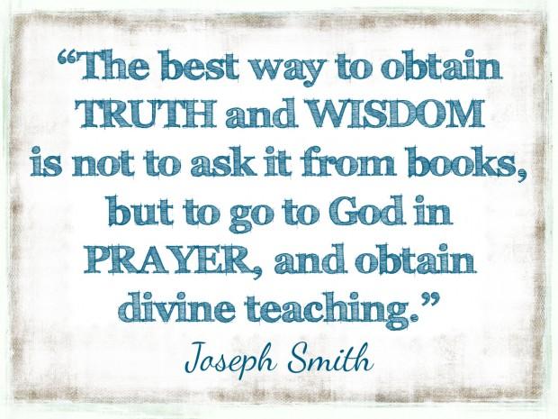 TRUTH & WISDOM