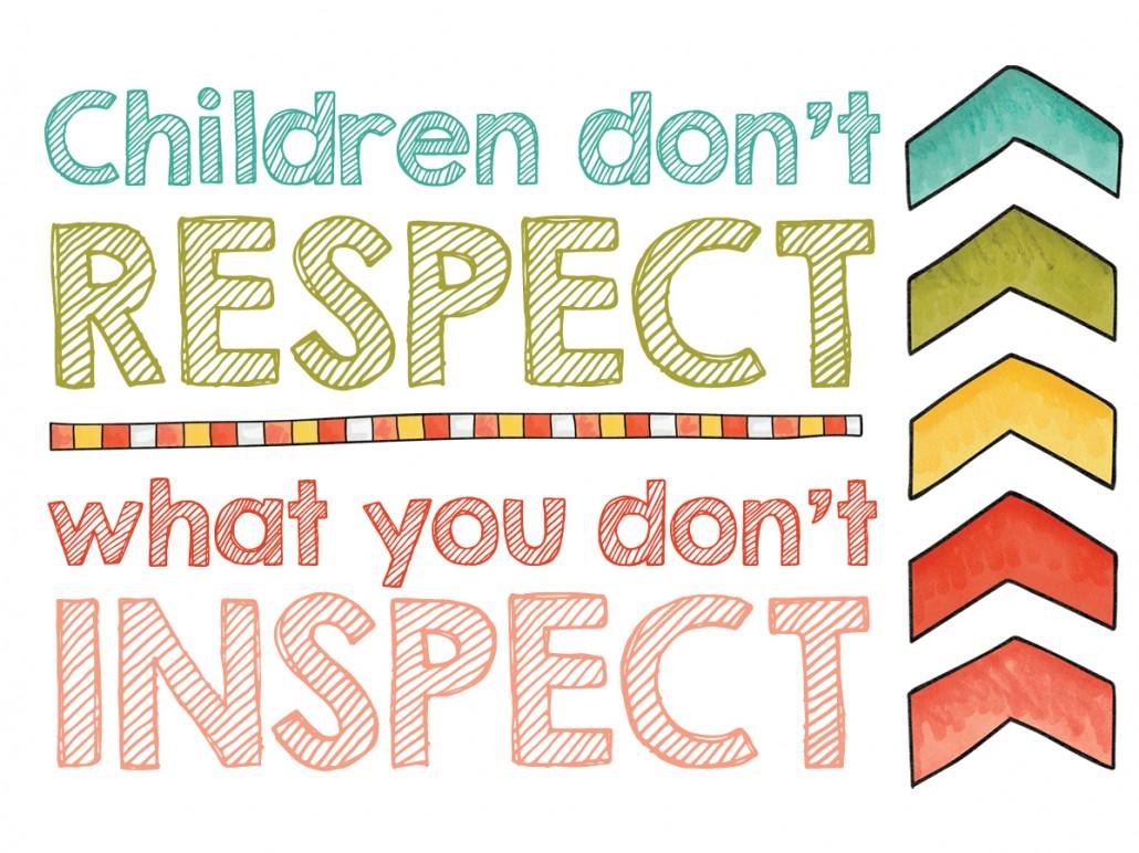 inspect respect family work