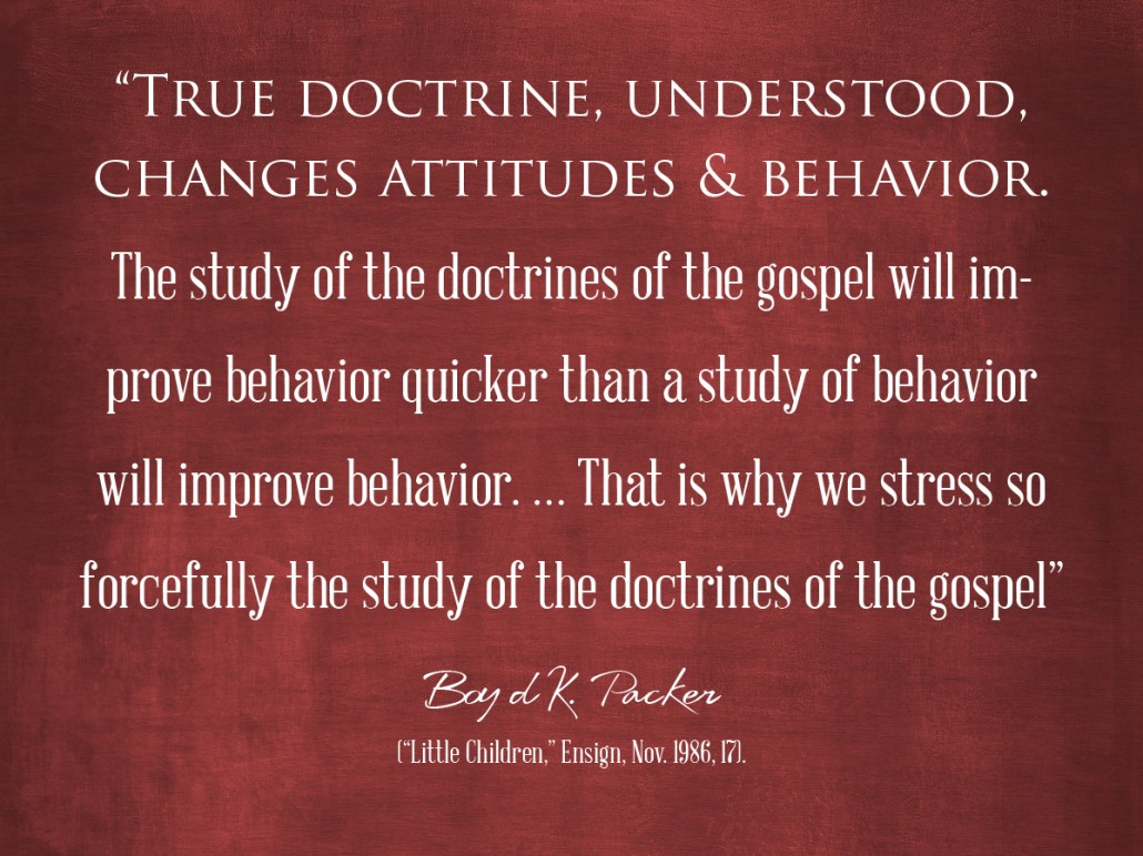 true doctrine understood