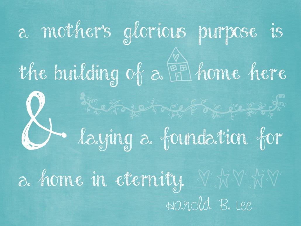 LAYING A FOUNDATION FOR A HOME IN ETERNITY