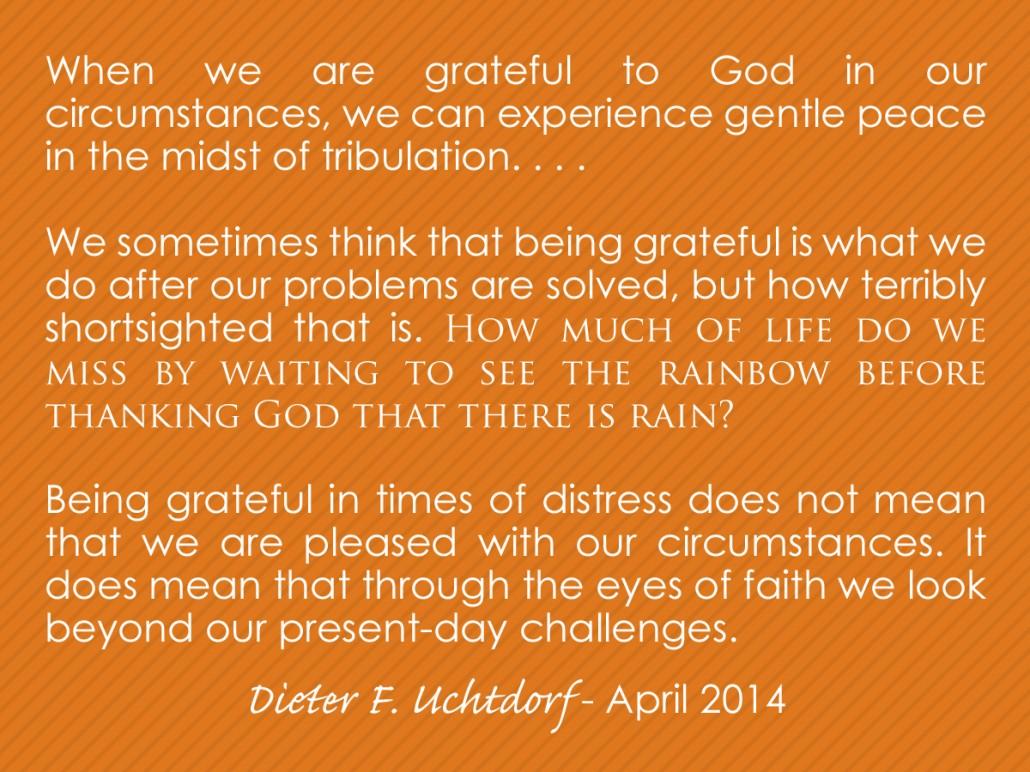 gratitude in any circumstance rainbow