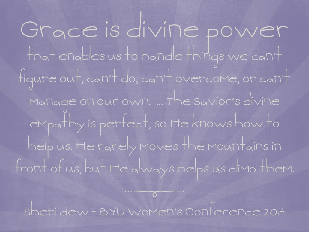 grace is divine power