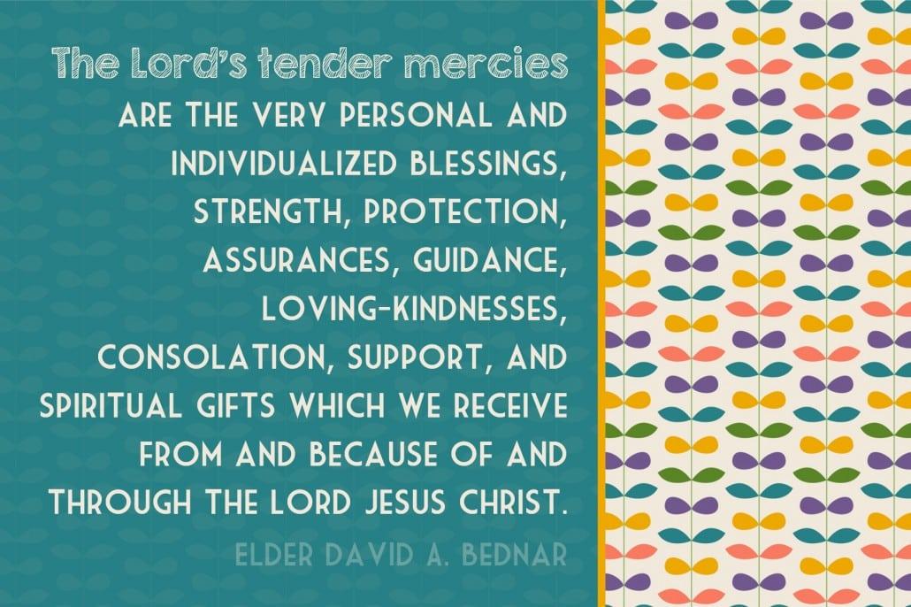 4x6 tender mercies define