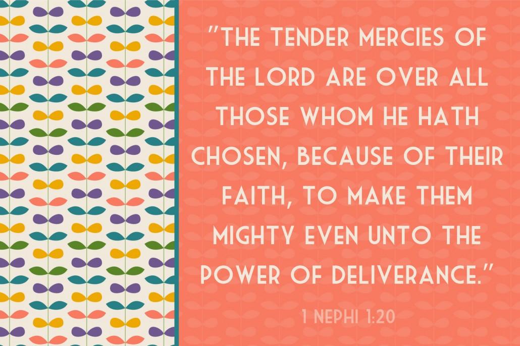 4x6 tender mercies scripture