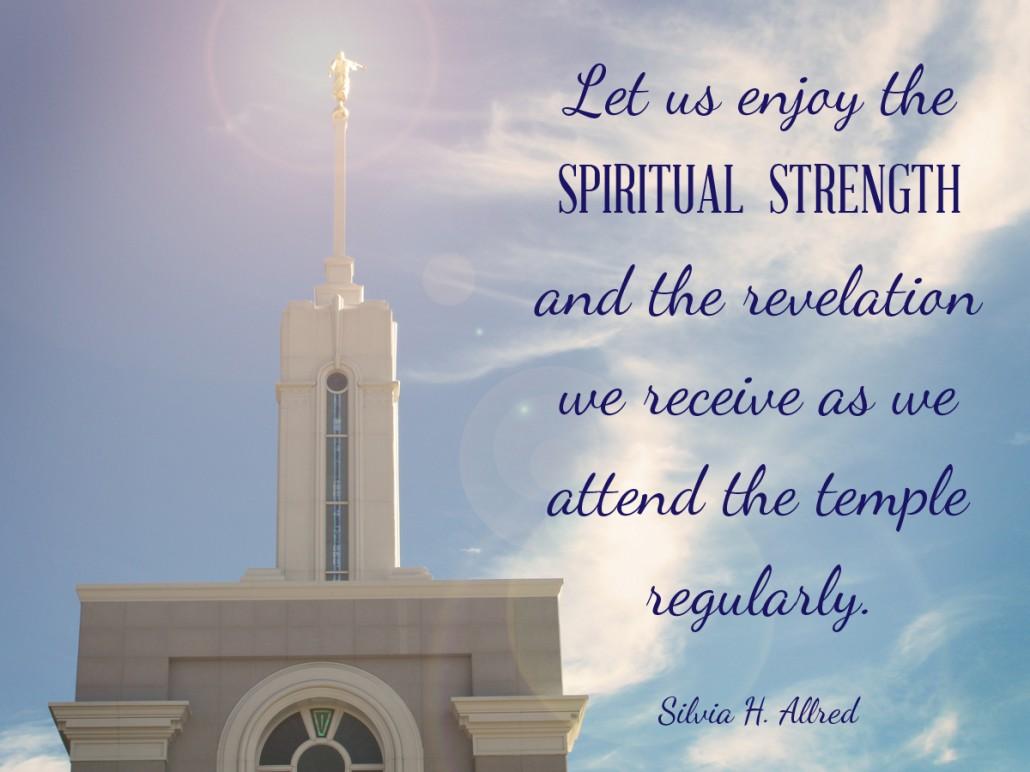 temples SPIRITUAL STRENGTH