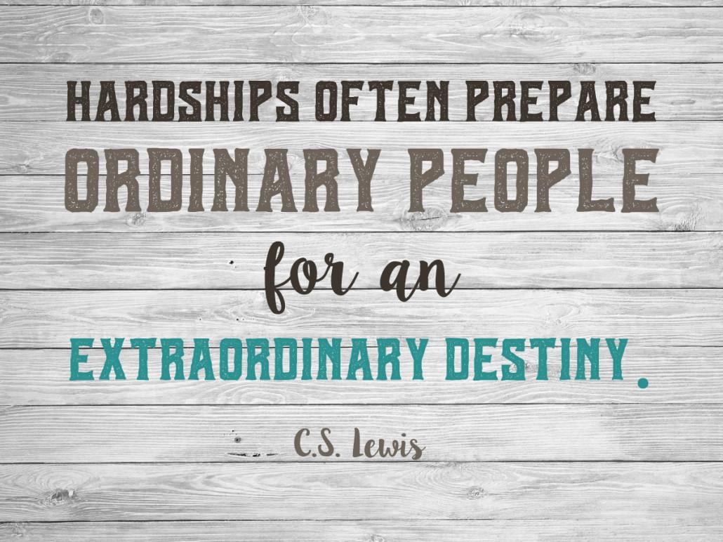 hardships c s lewis