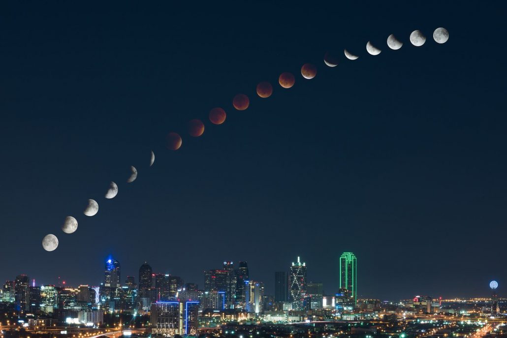 dallas lunar eclipse 2015