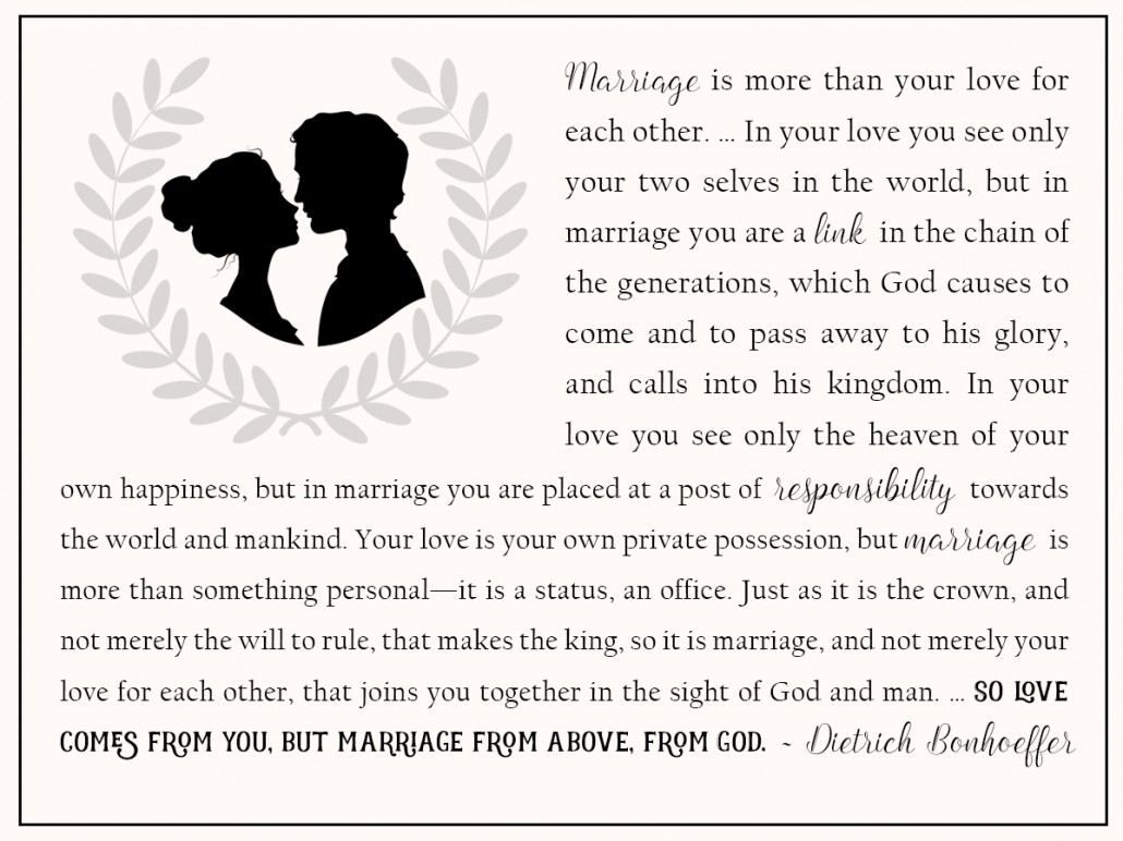 marriage love from god